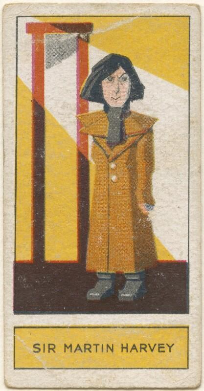 Sir John Martin-Harvey, by Unknown artist, issued by  Godfrey Phillips, 1932 - NPG D2722 - © National Portrait Gallery, London