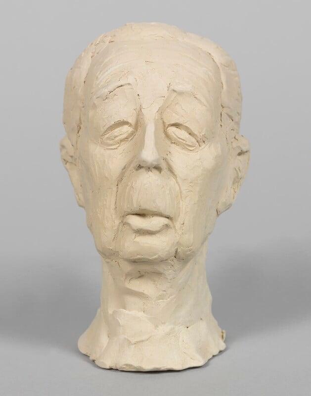 Harold Macmillan, 1st Earl of Stockton, by Geoffrey Davien,  - NPG D2735 - Photograph © National Portrait Gallery, London