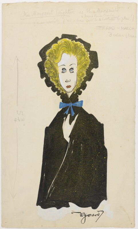 Margaret Leighton as Flora Macdonald, by Anthony Wysard, published 1949 - NPG D279 - © reserved; collection National Portrait Gallery, London