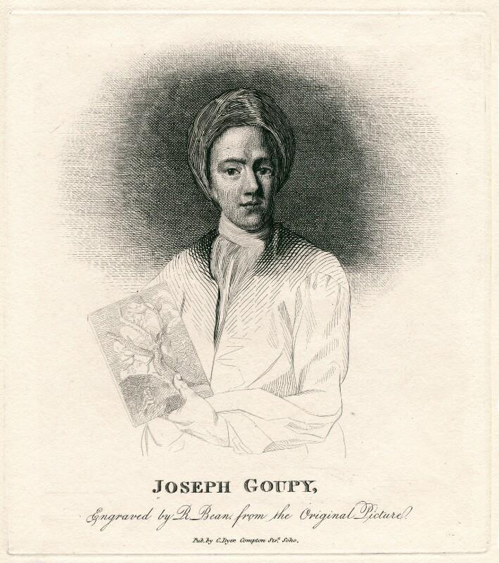 Joseph Goupy, by Richard Bean, possibly after  Michael Dahl, 1810-1817 - NPG D2795 - © National Portrait Gallery, London