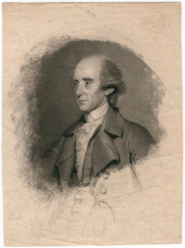 Warren Hastings, by John Jones, after  John Thomas Seton (Seaton), published 1785 (1784) - NPG D2966 - © National Portrait Gallery, London