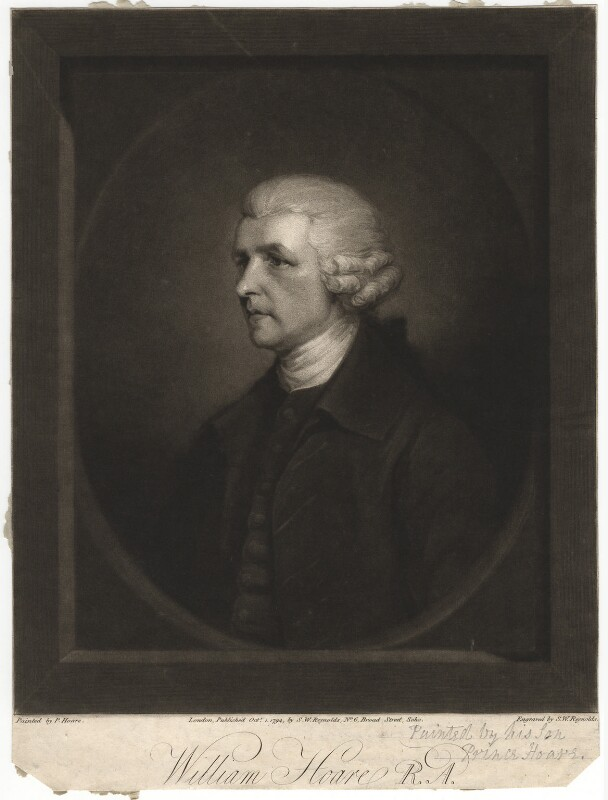 William Hoare, by and published by Samuel William Reynolds, after  Prince Hoare, published 1 October 1794 - NPG D3060 - © National Portrait Gallery, London