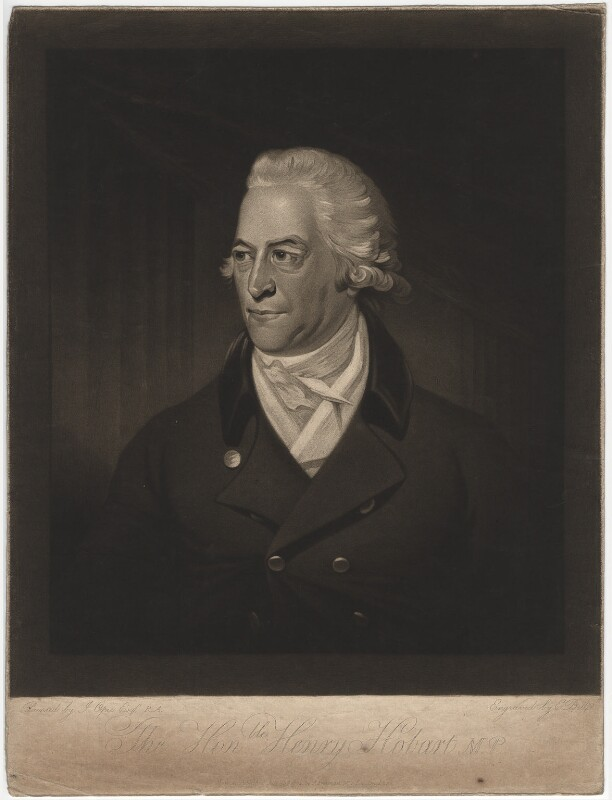 Henry Hobart, by Edward Bell, after  John Opie, published 1804 - NPG D3064 - © National Portrait Gallery, London