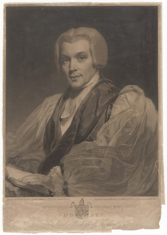 William Howley, by Samuel William Reynolds, after  William Owen, published February 1818 - NPG D3117 - © National Portrait Gallery, London