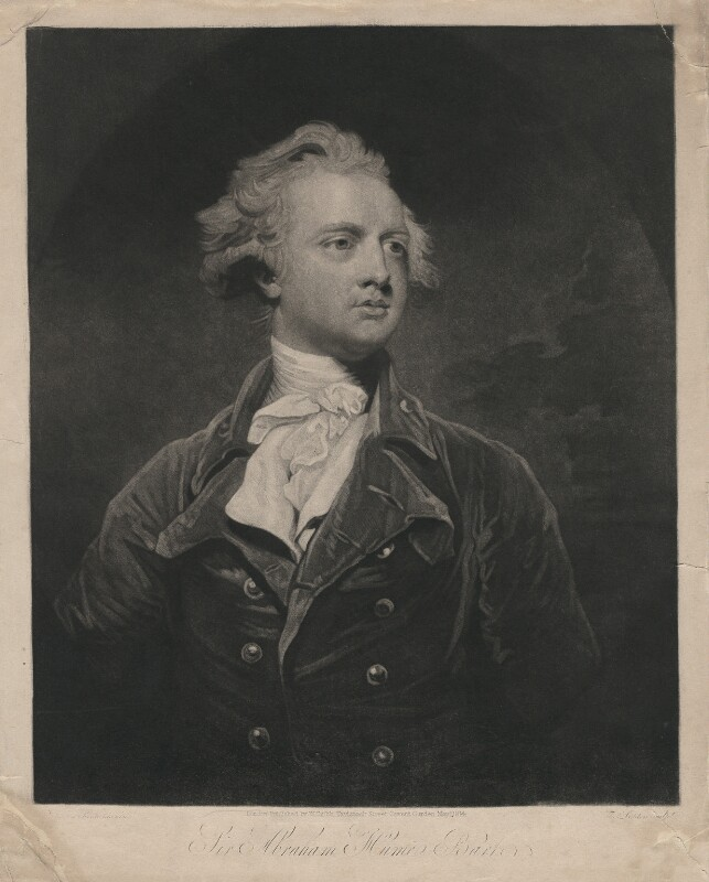 Sir Abraham Hume, 2nd Bt, by Thomas Goff Lupton, published by  William Cribb, after  Sir Joshua Reynolds, published 1 May 1814 (1783) - NPG D3123 - © National Portrait Gallery, London