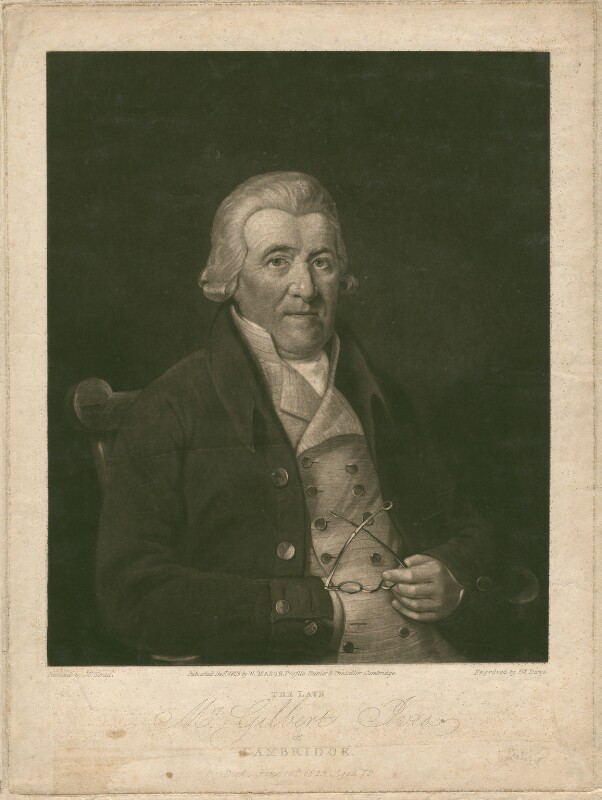 Gilbert Ives, by Henry Edward Dawe, published by  W. Mason, after  Jacob George Strutt, published 1825 - NPG D3142 - © National Portrait Gallery, London