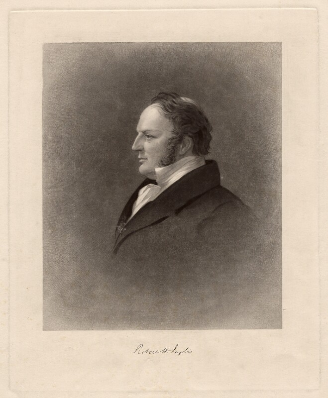 Sir Robert Harry Inglis, 2nd Bt, by Joseph Epenetus Coombs, after  Sir George Hayter, 1830s? - NPG D3148 - © National Portrait Gallery, London