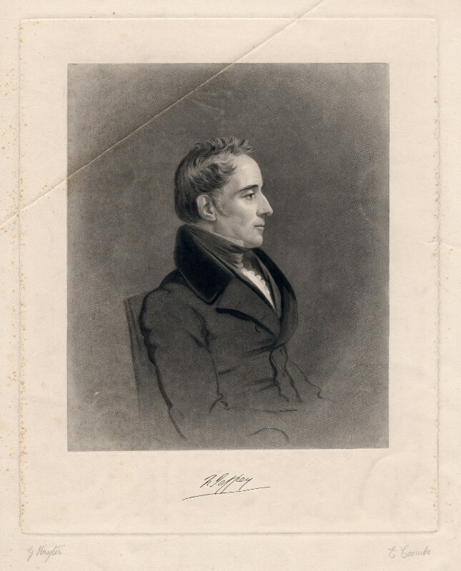 Francis Jeffrey, Lord Jeffrey, by Joseph Epenetus Coombs, after  Sir George Hayter, (1833) - NPG D3151 - © National Portrait Gallery, London