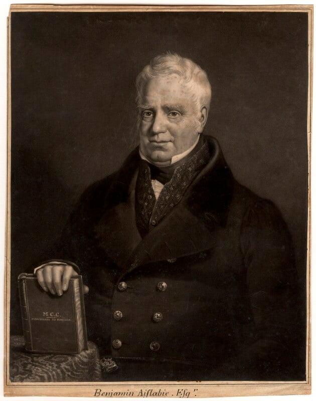 Benjamin Aislabie, by Henry Edward Dawe, mid 19th century - NPG D319 - © National Portrait Gallery, London