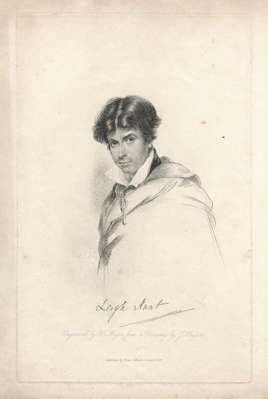 James Henry Leigh Hunt, by Henry Meyer, after  John Hayter, published 1828 - NPG D3289 - © National Portrait Gallery, London