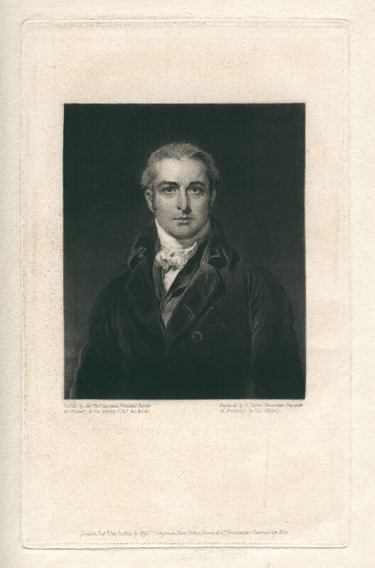 John Philip Kemble, by Charles Turner, after  Sir Thomas Lawrence, published 1825 - NPG D3369 - © National Portrait Gallery, London