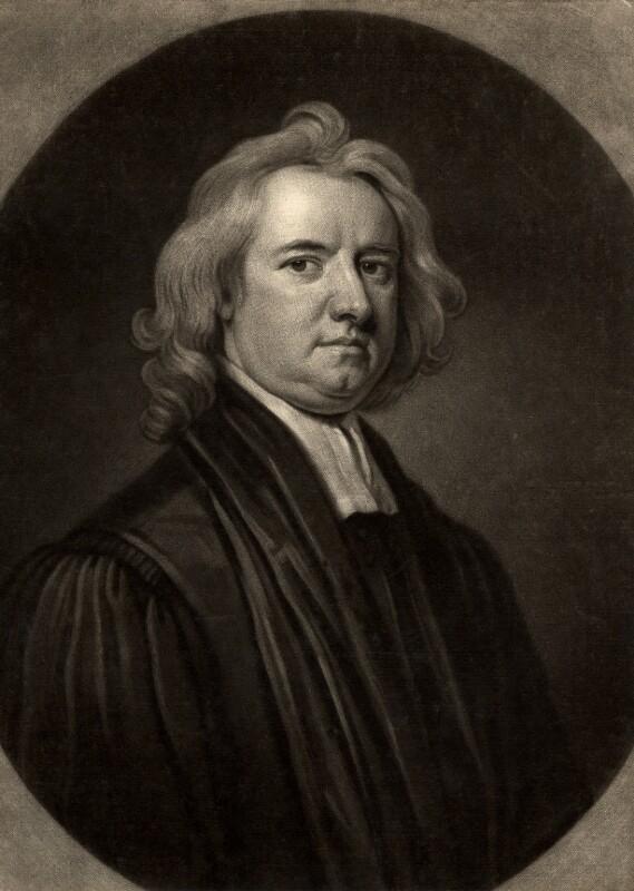 Henry Aldrich, by John Smith, after  Sir Godfrey Kneller, Bt, 1699 - NPG D338 - © National Portrait Gallery, London