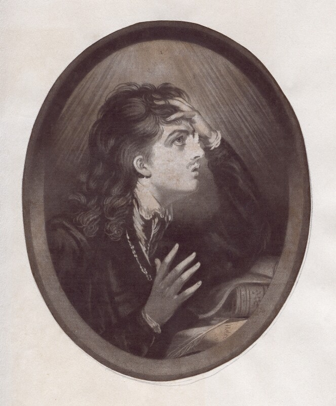 Abelard (called Charles Kemble), Published by Thomas Watson, 1776 - NPG D3393 - © National Portrait Gallery, London