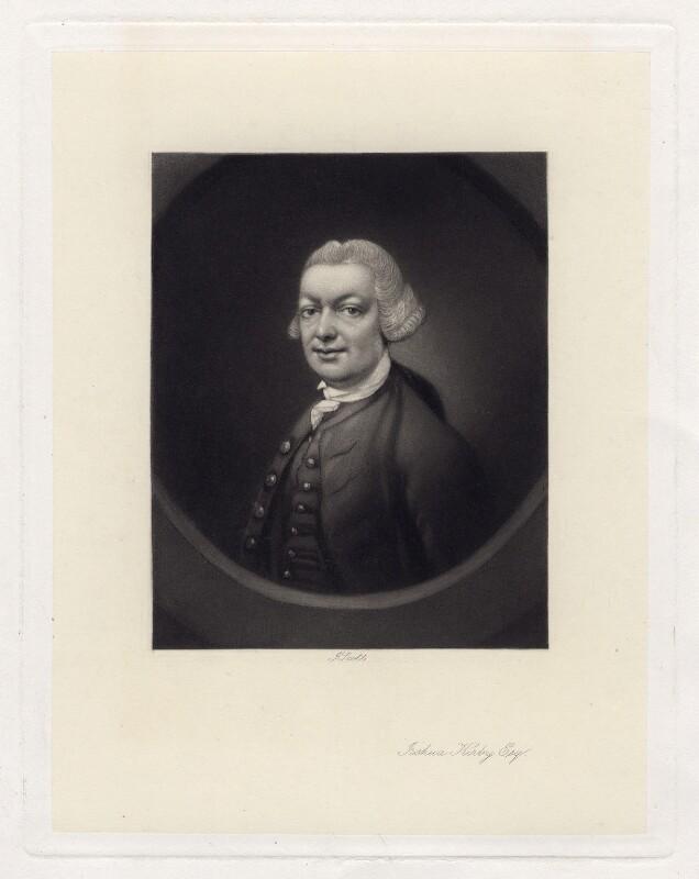John (John) Joshua Kirby, by James Scott, after  Thomas Gainsborough, published 1879 (circa 1764) - NPG D3436 - © National Portrait Gallery, London