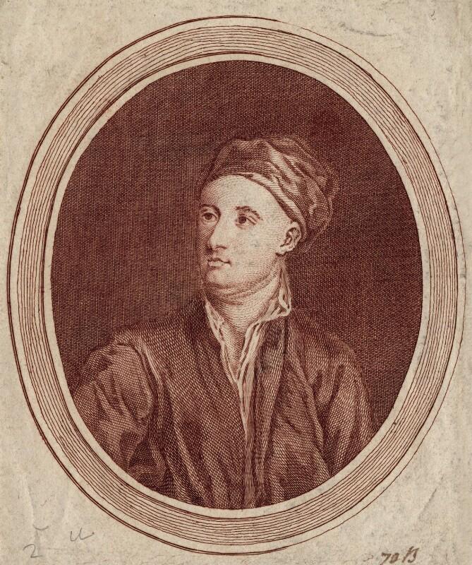 William Kent, by William Aikman, after  Alexander Bannerman, published 1762 - NPG D3485 - © National Portrait Gallery, London