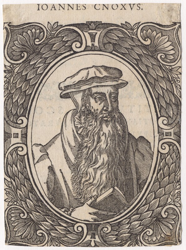 John Knox, after Adrian Vanson (van Son), published 1580 - NPG D3505 - © National Portrait Gallery, London
