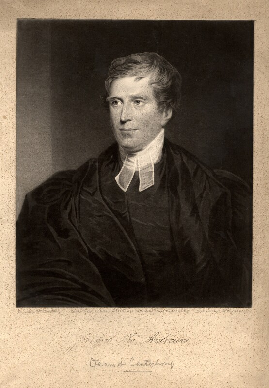 Gerrard Thomas Andrewes, by Samuel William Reynolds Jr, published 17 February 1834 - NPG D355 - © National Portrait Gallery, London