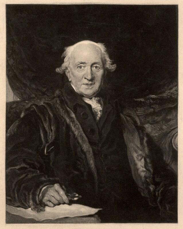 John Julius Angerstein, after Sir Thomas Lawrence, (circa 1815) - NPG D356 - © National Portrait Gallery, London