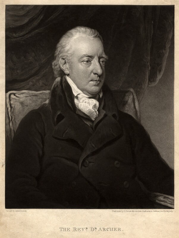 James Archer, by Charles Turner, after  James Ramsay, published 1826 - NPG D358 - © National Portrait Gallery, London