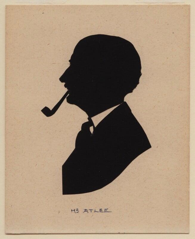Clement Attlee, by Harry Lawrence Oakley, 1920s-1950s - NPG D361 - © National Portrait Gallery, London