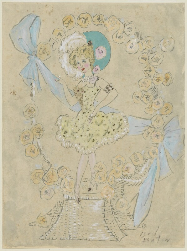 Gaby Deslys as The Charm of Paris in 'New Aladdin', by Cecil Beaton, circa 1930 - NPG D3613 - © National Portrait Gallery, London