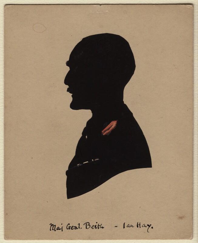 Ian Hay (John Hay Beith), by Harry Lawrence Oakley, 1920s-1950s - NPG D363 - © National Portrait Gallery, London