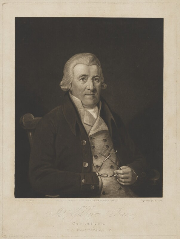 Gilbert Ives, by Henry Edward Dawe, published by  W. Mason, after  Jacob George Strutt, published 1825 - NPG D3706 - © National Portrait Gallery, London