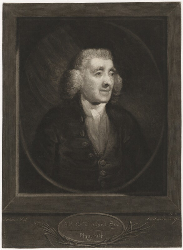 Samuel Northcote, by Samuel William Reynolds, after  James Northcote, early 19th century (1786) - NPG D3708 - © National Portrait Gallery, London