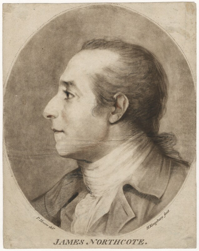 James Northcote, by Henry Kingsbury, after  Prince Hoare, late 18th century - NPG D3733 - © National Portrait Gallery, London