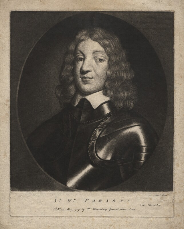 Sir William Parsons, 1st Bt, by P. or S. Paul (Samuel de Wilde?), published by  William Humphrey, published 29 May 1777 - NPG D3829 - © National Portrait Gallery, London