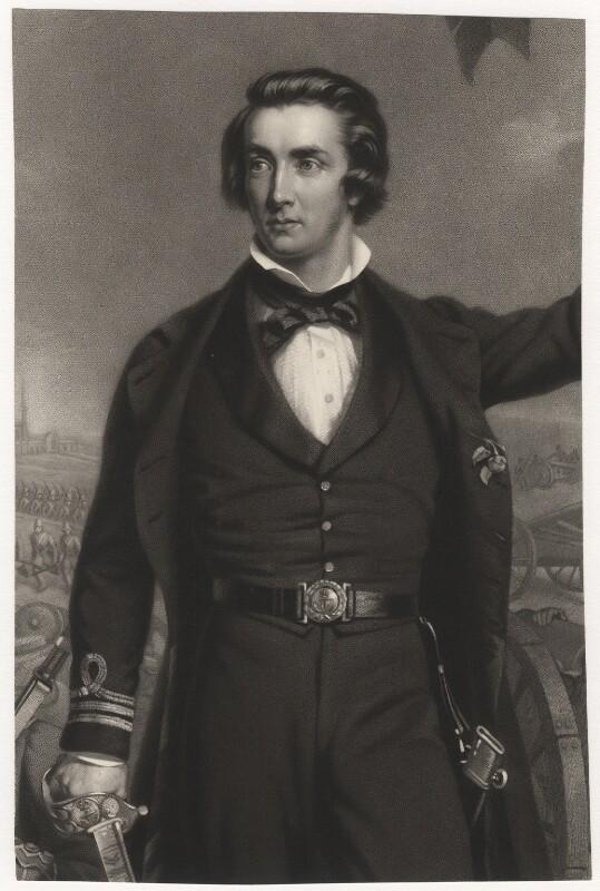Sir William Peel, by James John Chant, after  John Lucas, published 1860 - NPG D3853 - © National Portrait Gallery, London