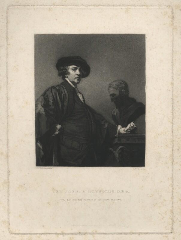 Sir Joshua Reynolds, by Samuel William Reynolds, after  Sir Joshua Reynolds, published 1834 (1780) - NPG D4020 - © National Portrait Gallery, London