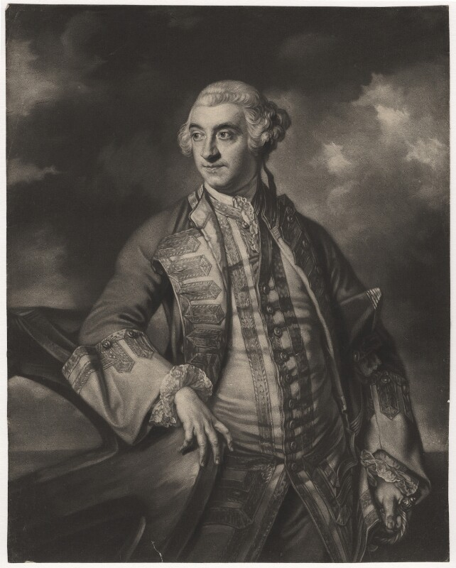 Sir Charles Saunders, by James Macardell, after  Sir Joshua Reynolds, (1760) - NPG D4162 - © National Portrait Gallery, London