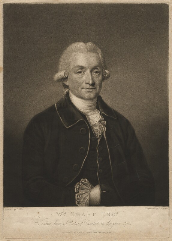 William Sharp, by Charles Turner, after  J. Abbot, published 1810 (1784) - NPG D4210 - © National Portrait Gallery, London
