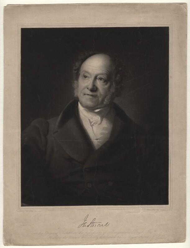 J.A. Stuart, by James Scott, after  John Lilley, mid 19th century - NPG D4344 - © National Portrait Gallery, London