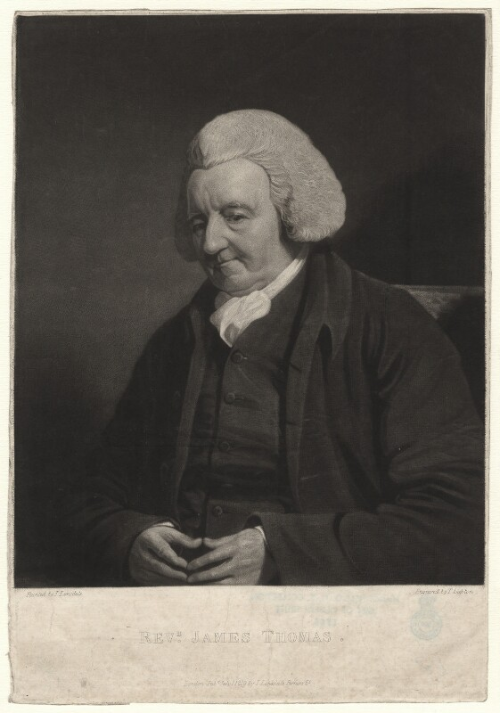 James Thomas, by Thomas Goff Lupton, after  James Lonsdale, published 1819 - NPG D4362 - © National Portrait Gallery, London