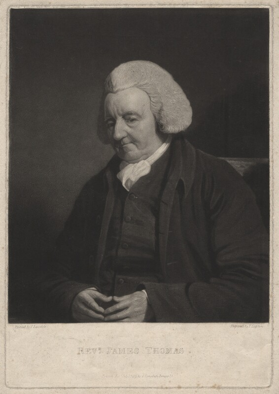 James Thomas, by Thomas Goff Lupton, after  James Lonsdale, published 1819 - NPG D4363 - © National Portrait Gallery, London