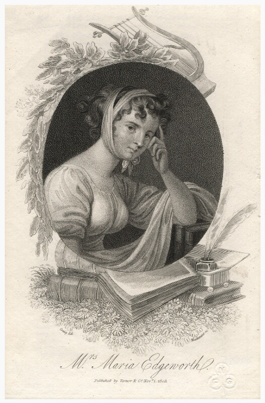 Unknown woman engraved as Maria Edgeworth, by Mackenzie, after  William Marshall Craig, published 1 November 1808 - NPG D4455 - © National Portrait Gallery, London