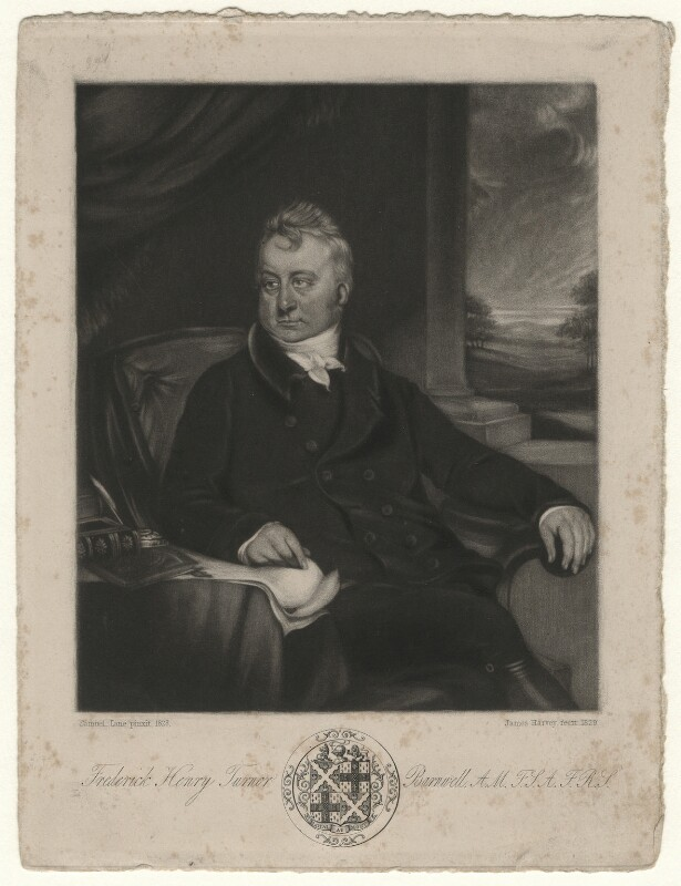 Frederick Henry Turnor-Barnwell, by James Harvey, after  Samuel Lane, 1829 (1828) - NPG D4510 - © National Portrait Gallery, London