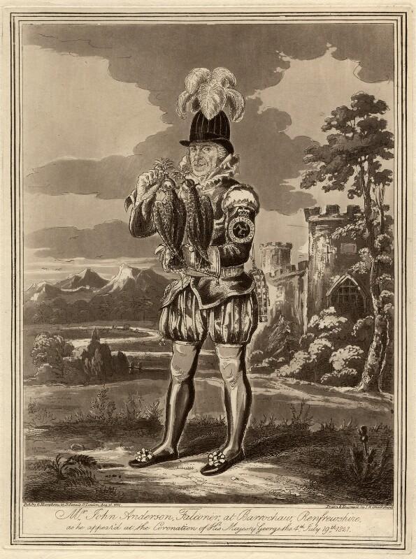 John Anderson, by (Isaac) Robert Cruikshank, published 16 August 1821 - NPG D455 - © National Portrait Gallery, London