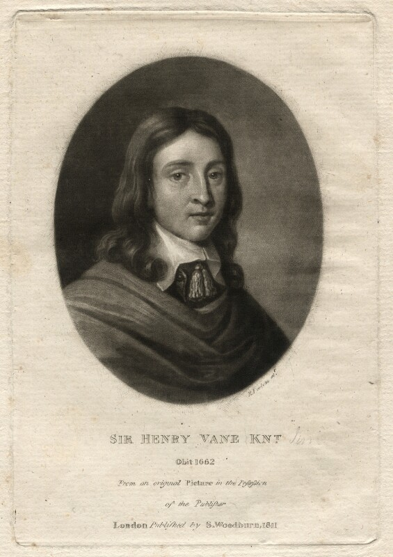 Sir Henry Vane the Younger, by Richard Earlom, after  Unknown artist, published 1811 - NPG D4561 - © National Portrait Gallery, London