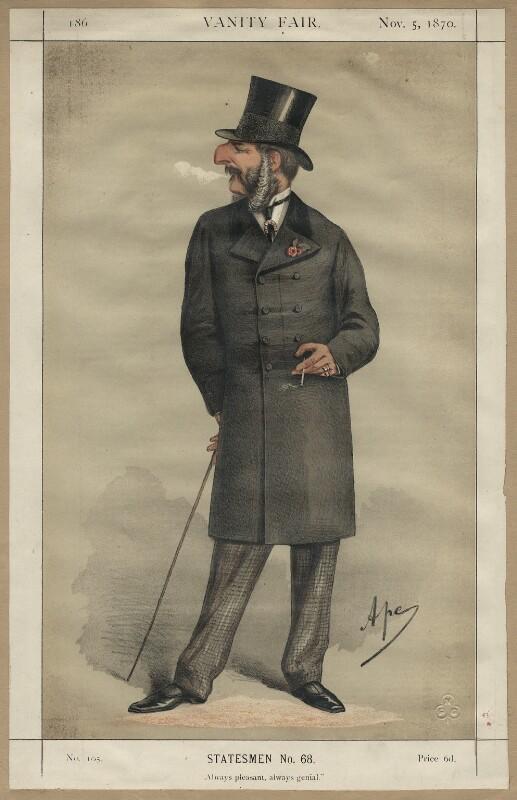 John Cranch Walker Vivian, by Carlo Pellegrini, published 1870 - NPG D4568 - © National Portrait Gallery, London
