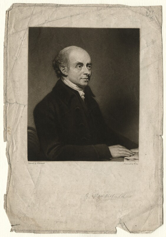 Gilbert Wakefield, by William Say, published by  Joseph Johnson, after  William Artaud, published 1 August 1804 - NPG D4586 - © National Portrait Gallery, London