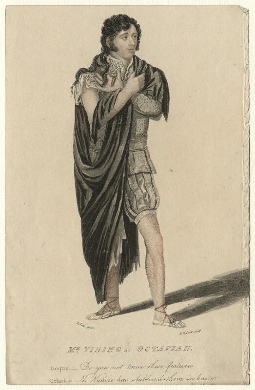 James Vining, by Henry Richard Cook, after  Roger Jean, published 1814 - NPG D4597 - © National Portrait Gallery, London