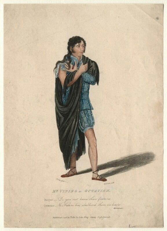 James Vining, by Henry Richard Cook, published by  John King, after  Roger Jean, published 1814 - NPG D4598 - © National Portrait Gallery, London