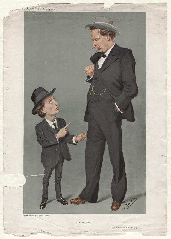 Ben Tillett; John Ward ('Men of the Day. No. 1129.