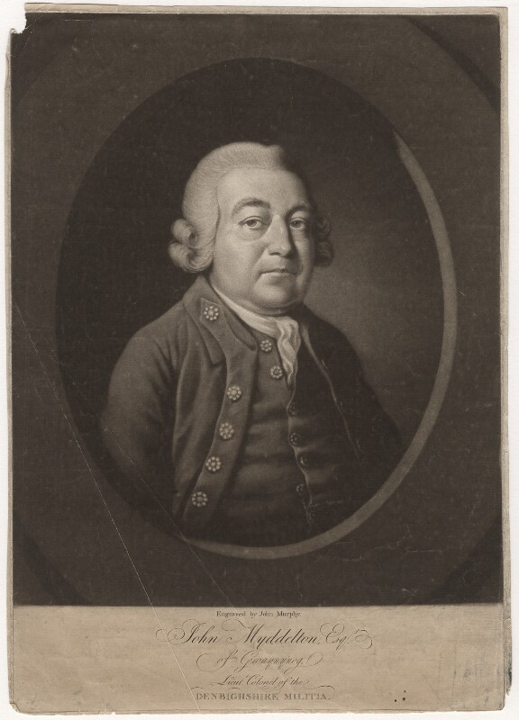 John Myddelton, by John Murphy, late 18th century - NPG D4654 - © National Portrait Gallery, London