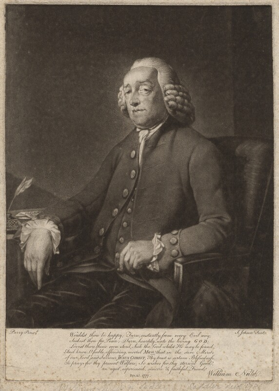 William Neild, by Isaac Jehner (Jenner), after  William Parry, 25 February 1777 - NPG D4663 - © National Portrait Gallery, London