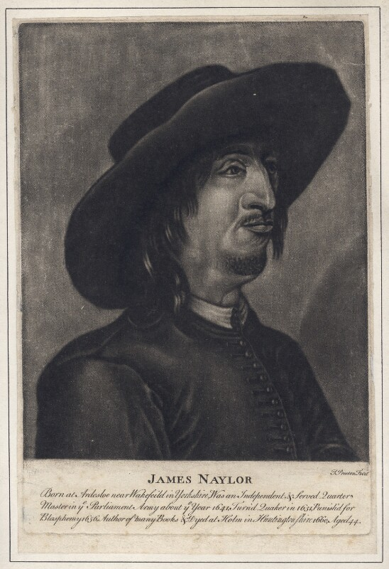 James Nayler, by Thomas Preston, after  Francis Place, mid 18th century - NPG D4682 - © National Portrait Gallery, London