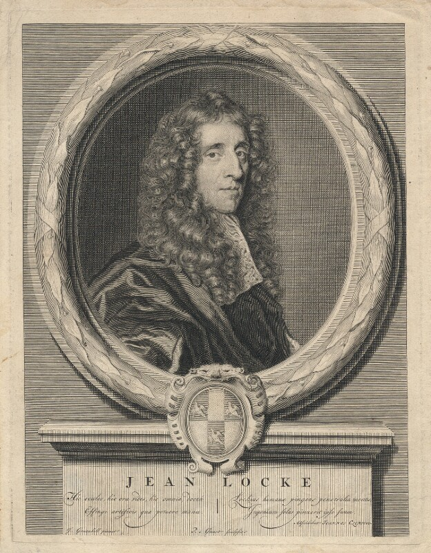 John Locke, by Pieter Stevens van Gunst, after  John Greenhill, (circa 1672-1676) - NPG D5096 - © National Portrait Gallery, London
